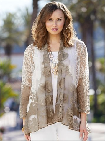 Bella Burnout Jacket