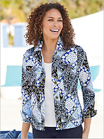 Calico Patchwork Jacket