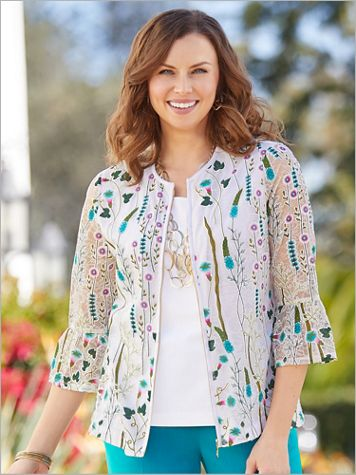 Lace Garden Jacket - Image 2 of 2