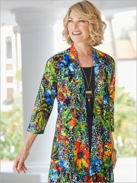 Tropical Oasis Lace Jacket