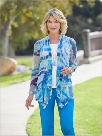 Painted Waves Jacket & Slimtacular® Pants