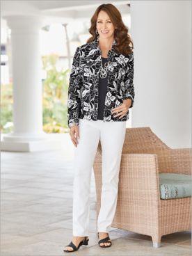 Hibiscus Jacket & Slimtacular® Pants