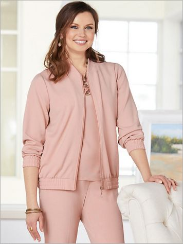 Look-Of-Linen Bomber - Image 1 of 3