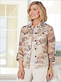 Desert Dunes Burnout Jacket