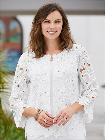 Tiffany Lace Jacket - Image 3 of 3