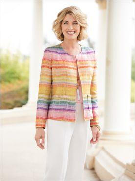 Over The Rainbow Jacket & Herringbone Pants