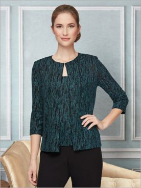 Sparkle Dust Special Occasion Knit Twin Set