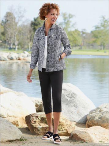 Spot On Jean Jacket & Slimtacular® Ultimate Fit Capris