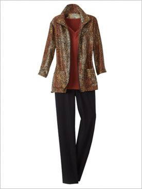 Spice It Up Jacket & Slimtacular® Stretch Twill Pants