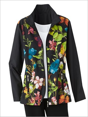 Enchanted Forest Microfiber Jacket - Image 2 of 2