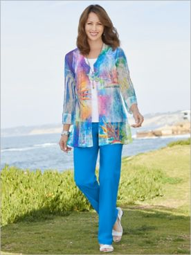 Bird Of Paradise Mesh Jacket & Slimtacular® Pants
