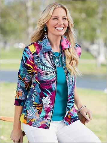 Exotic Paradise Knit Jacket
