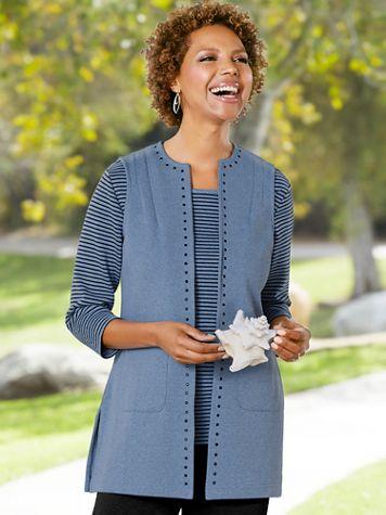 Modern Mélange Vest by D&D Lifestyle™ - Image 2 of 2