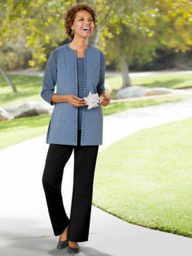 Modern Melange Vest Separates by D&D Lifestyle™