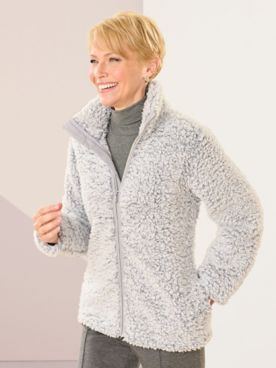 Silver Linings Sherpa Long Sleeve Jacket