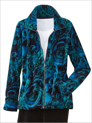 Velour To Adore Long Sleeve Jacket - Image 1 of 3
