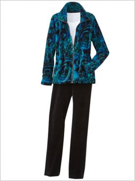 Velour to Adore Jacket & Velor Pants by D&D Lifestyle™
