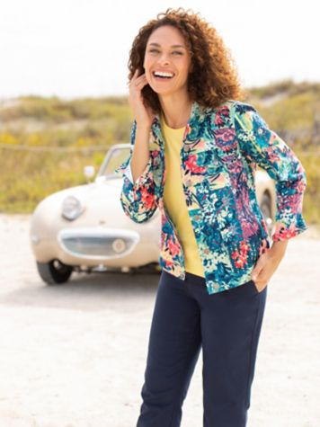 Patchwork Paradise Jacket & Comfort Stretch Pants