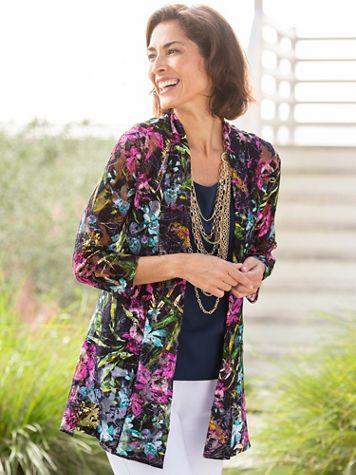 Graceful Lace Cascade Jacket - Image 2 of 2