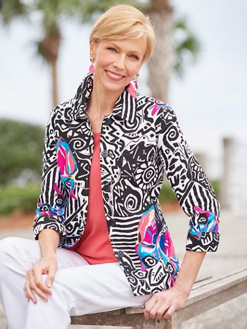 Rainbow Butterfly Jacket - Image 2 of 2