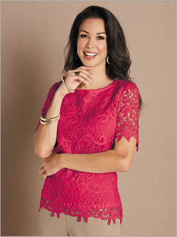 Lovely Lace Top - Image 1 of 3