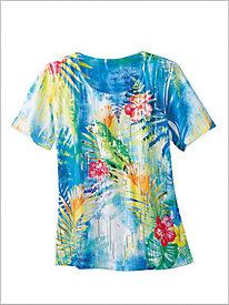 Amazon Parrot Print Tee