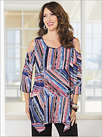 Graphic Stripe Tunic
