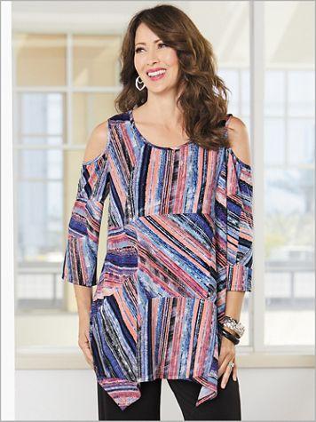 Graphic Stripe Tunic - Image 2 of 2
