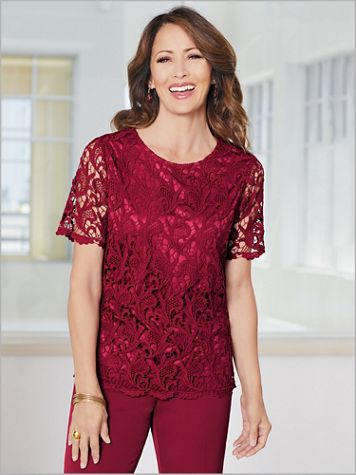 Lavish Lace Top - Image 0 of 1