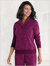 Warm & Cozy Fleece Top by D&D Lifestyle™