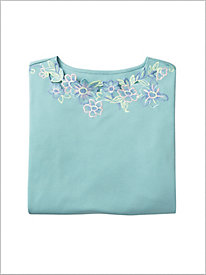 De-Luxe Embroidered Tee