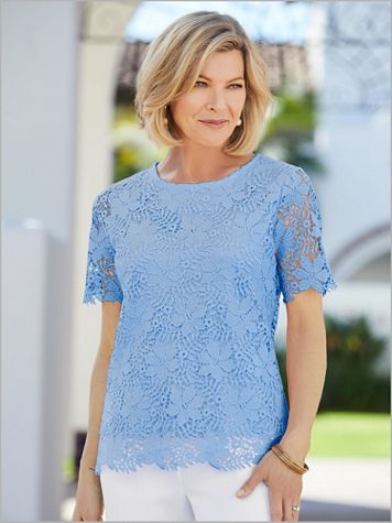 Pretty Lace Top - Image 1 of 3
