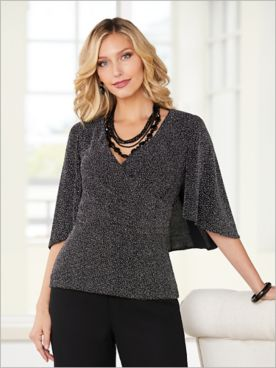 Simply Sparkle Top by Alex Evenings