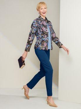 Jacobean Jean Jacket & Slimtacular® Ultimate Pants
