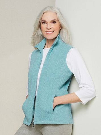 Cable Knit Vest - Image 1 of 3