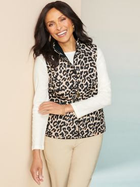 Reversible Animal Quilted Vest