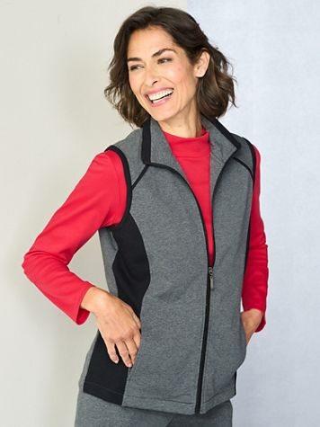 Casual Colorblock Vest - Image 2 of 2