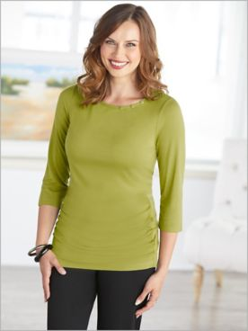 Chartreuse Collection Solid Top by Picadilly