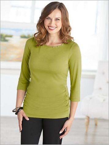 Chartreuse Collection Solid Top by Picadilly - Image 2 of 2