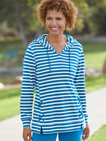 Shore Port Lace Up Tunic by D&D Lifestyle™ - Image 3 of 3