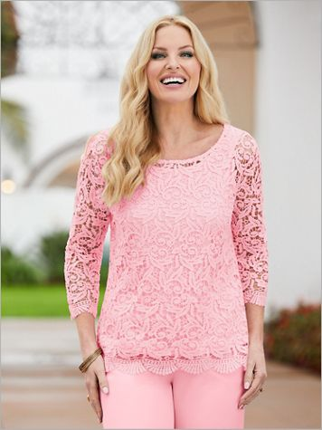Prettiest Lace Top - Image 1 of 4