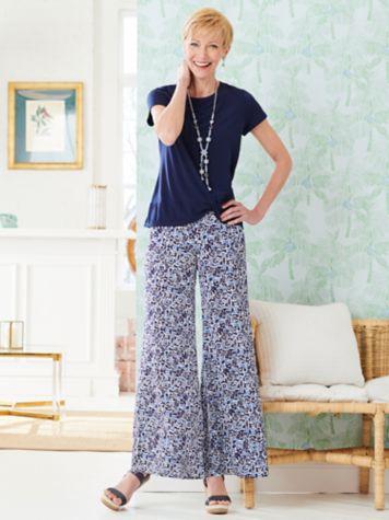 Twist Hem Tee & Coastal Spirit Skirt