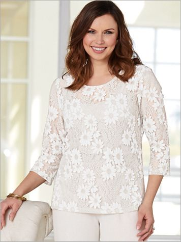 Daisy Lace Top - Image 2 of 2