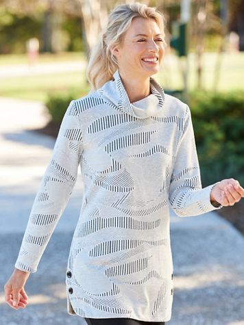 Textured Long Sleeve Pullover - Image 1 of 1