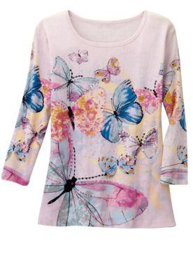 Butterfly Dream Print Tee
