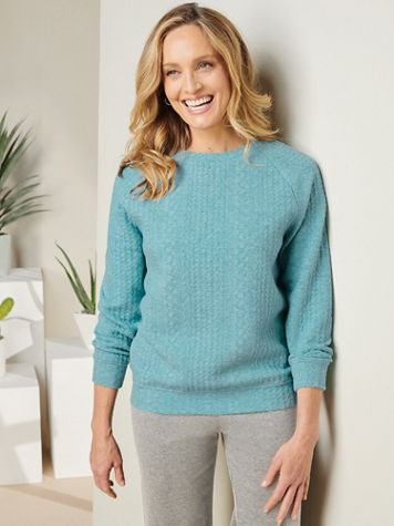 Cozy Cable Knit Pullover - Image 1 of 3