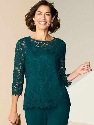 Loveliest Lace Top - Image 1 of 4