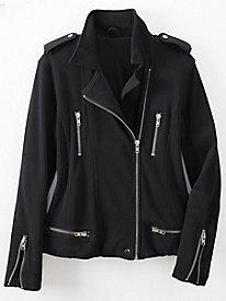Moto Zip Front Jacket