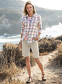 Flex-Time Bermuda Shorts