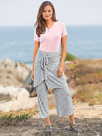 Wrap Skirted Pants